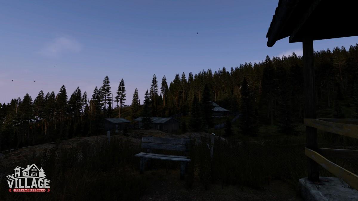 Summer Camp at dawn